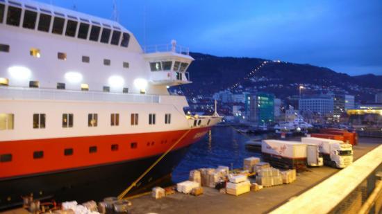 Au départ de Bergen