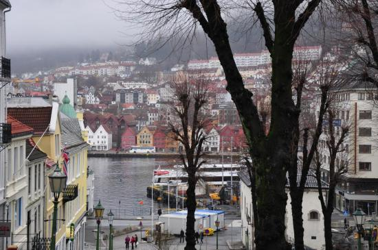 Bergen, le quartier de Bryggen