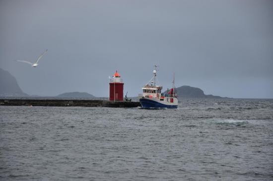 Arrivée à Ålesund