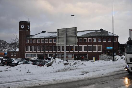 La gare de Bodø