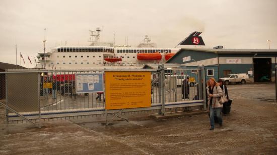 Arrivée à Kirkenes, direction l'aéroport