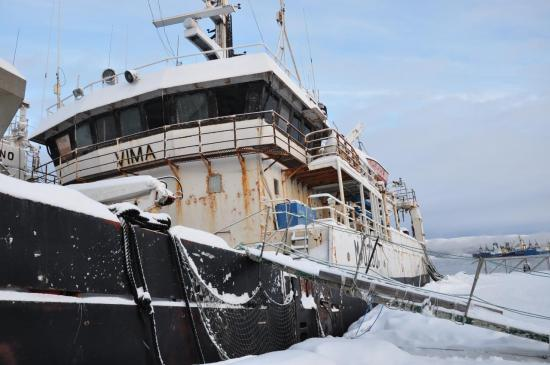Quelques vieux bateaux russes