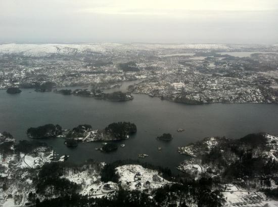 Arrivée à Bergen
