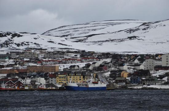 Nous quittons Hammerfest