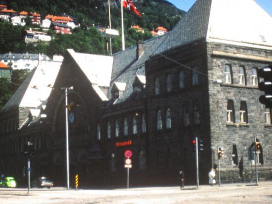 1976, La gare de Bergen