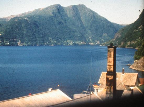 1976 En train vers Bergen