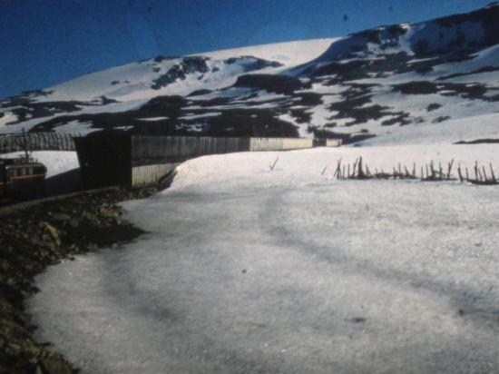 1976, De la neige en juillet 1976