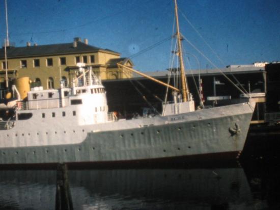 1976, La gare de Trondheim. Si Si