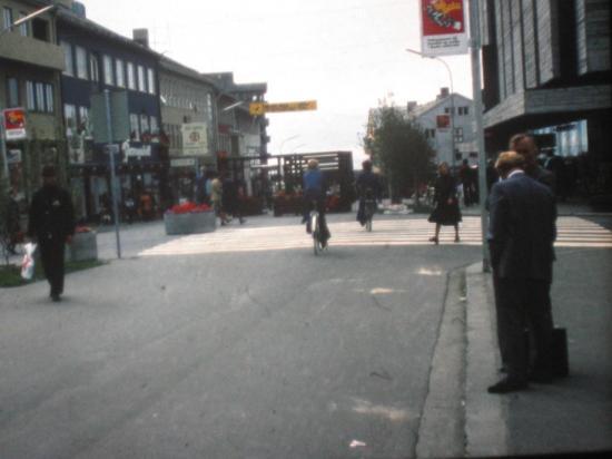 1976, Bodo, centre-ville