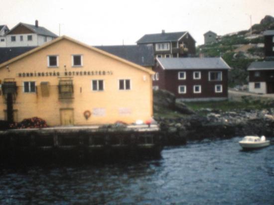 1976, arrivée à Honningsvag