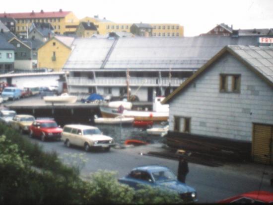 1976, pas de tunnel, de la patience pour prendre le ferry...