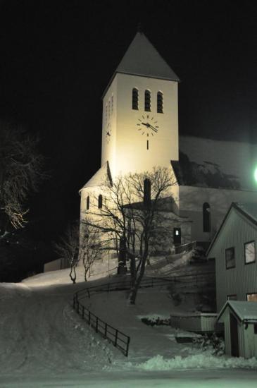 209 L'église de Svolvær