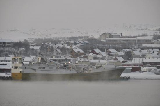 468 Arrivée à Kirkenes - 24 °c