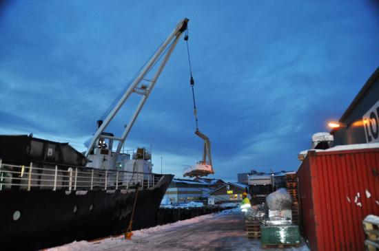 569 A quai à Harstad