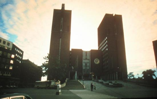 1979, Paris /  Oslo /  Cap nord / Finlande /  Suède / Danemark...
