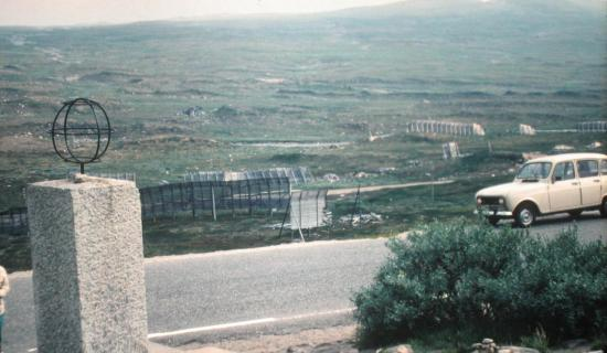 1979, Passage du cercle polaire